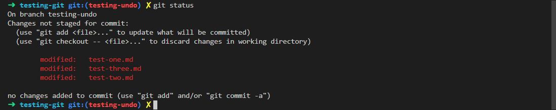 git reset --soft example 1
